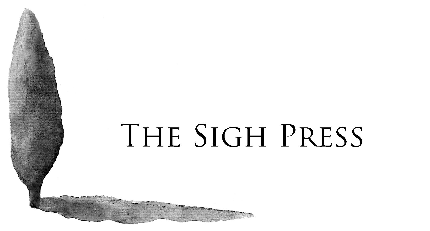 The Sigh Press logo with title for website FINAL