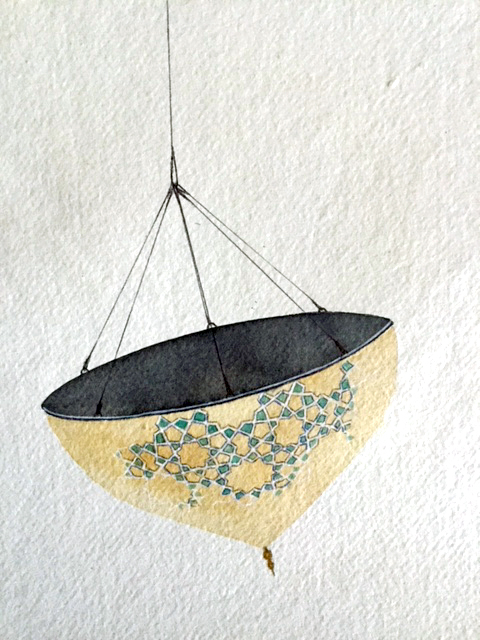 Floating Dome by artist Maryam Rastghalam