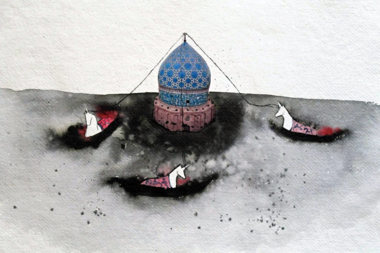 Floating Dome by Maryam Rastghalam